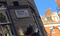 Archer Street sign (wearearchers) Tags: theatre signage archers w1 westend theatreland archerstreet officerefurbishment largeformatdigitalprinting archerstudios