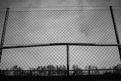 Fence (crodriguesc) Tags: bw white black digital zeiss fence dark 50mm steel sony 7 struktur structure symmetry alpha zaun weiss a7 bwphotography nrnberg nuernberg symmetrie stachel alpha7 zeissplanar mmount planart250