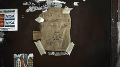 wicked at (yuzvir) Tags: door dog cat picture lviv ukraine wicked angry ua lvivoblast