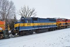 Good To See A Old Friend (Ryan Distad) Tags: minnesota eastern dakota dme emd 4001 gp40