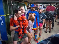Pantless Sunday 11. (rockerlan) Tags: new york nyc people subway square downtown pants manhattan no union sunday places super olympus heroes pantless lifestyles em5