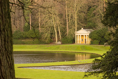 Studley Royal Temple (craeglea) Tags: abbey yorkshire north royal fountains studley