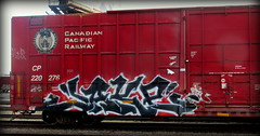jake (timetomakethepasta) Tags: train graffiti jake pacific canadian boxcar cp freight bth