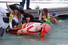 Pirate Fun (walkerross42) Tags: winter ice monster marina utah pirates polarplunge polarbearswim gardencity