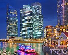 A Night Cruise @ Marina Bay (williamcho) Tags: city cruise town singapore ngc restaurants entertainment banks offices marinabay financialcentre rivertaxi thesail collyerquay mbfc flickaward topazlabadjust marinabayfinancialcentre fullertonbayhotel hitels