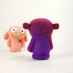 Weldon (Kit Lane) Tags: wool felted toy toys character felt kawaii ursa kitlane