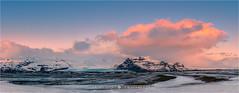 Sunrise Vatnajokull N.P - Iceland (~ Floydian ~ ) Tags: park morning winter cloud snow ice nature clouds sunrise canon landscape photography dawn landscapes iceland europe national vatnajokull icelandic firstlight skyonfire floydian canoneos1dsmarkiii vatnajokullnationalpark henkmeijer