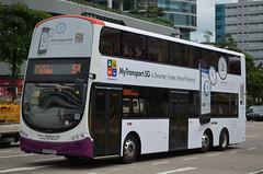 SBS Transit Volvo B9TL Wright Eclipse Gemini II (nighteye) Tags: bus eclipse volvo singapore wright lta landtransportauthority sbstransit b9tl geminiii bsep eurov service58 weg2  busserviceenhancementprogramme mytransportsg sbs3442p issmarterfastermorepersonal