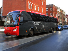 EBS R.Net bus 3017 Amsterdam Kamerlingh-Onnes laan (Arthur-A) Tags: bus netherlands buses amsterdam nederland autobus scania ebs egged bussen rnet