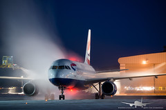 British Airways - G-EUYA - A320-200 (Aviation & Maritime) Tags: longexposure norway twilight airbus britishairways osl gardermoen a320 deice airbus320 engm oslolufthavngardermoen a320200 osloairport deiceing osloairportgardermoen airbus320200 geuya