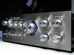 Kenwood KA 7150 Stereo Amplifier (oldsansui) Tags: old music classic radio vintage design amp retro stereo sound 1970 amplifier seventies audio hifi 1976 kenwood highfidelity gunmetal madeinjapan loudness 70erjahre