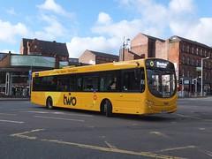 trent barton 778 Nottingham (Guy Arab UF) Tags: nottingham two urban bus buses eclipse volvo branded victoria trent barton wright 778 wellglade wellgladegroup bd65ewk