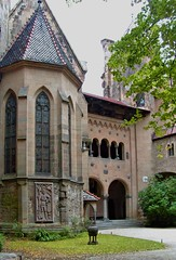 On the courtyard. Chapel's windows (mm.zajac) Tags: castle chapel burg anticando absolutelyperrrfect