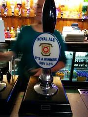 Royal Ale  it's a winner (DarloRich2009) Tags: beer ale brewery bitter camra realale greeneking campaignforrealale itsawinner handpull royalale greenekingbrewery royalaleitsawinner