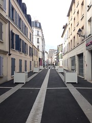 Puteaux, rue saulnier, chantier, pitonnisation (Grbert) Tags: puteaux pitonnisation