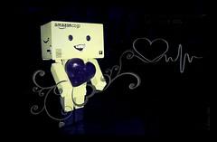 Danbo's Heart Rhythm (karmenbizet73) Tags: art hearts toys photography candy heart toystory random candyhearts ekg rhythm danbo heartrhythm amateurphotographer 37366 danboard photodevelopment danbolove toysunderthebed 2016366photos