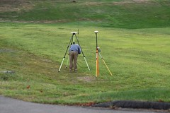 TPC River Highlands , Survey Crew at Work (rbglasson) Tags: nikon connecticut cromwell tpcriverhighlands d5500 nikond5500