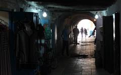 essaouira dark passage (kexi) Tags: africa canon dark lights march silhouettes morocco maroc passage essaouira 2015 maroko instantfave