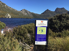 Cradle Mountain, Tasmania (Quench Your Eyes) Tags: park travel nationalpark australia tasmania aussie tassie biketour cradlemountain cradlemountainnationalpark