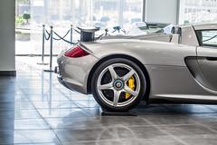 Porsche Carrera GT. (TAF27) Tags: silver grey porsche gt riyadh v10 carrera carreragt ksa porschecarreragt sealgrey sevencarlounge