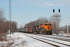 NS1071SignalsPortageWI2-7-16 (railohio) Tags: wisconsin ns trains signals cp portage cnj d90 centralofnewjersey 020716 sd70ace heritageunit