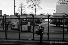 26/366 (Raphal N.) Tags: street blackandwhite bw black monochrome blackwhite zwartwit streetphotography fujifilm groningen zwart straat zw xseries aphotoaday x100 straatfotografie 23mm apictureaday 366days x100t fujix100t