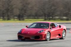 Driving a Ferrari F430 Supercar (budrowilson) Tags: track racing panning supercar ferrarif430 drivingexperience ef70200mmf28lisusm canoneos7dmarkii