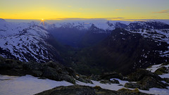 """""""So Long For This Moment"""" (Explore) (ScenicMotion) Tags: panorama mountain norway view norwegen hdr fjords sunet geiranger geirangerfjord 3xp dalsnibba mortenberg"""