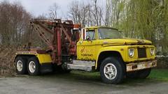 1964 Mercury Super-Duty Tow Truck Wrecker (Custom_Cab) Tags: htt 1964 mercury superduty tow truck wrecker canada canadian ford boyce towing recovery rustys auto richmond bc yellow old vintage custom cab m750 f750 m850 m700 super duty medium 1963 1965 1966 1962 f800 m800 m950 1961 f950 tandem axle ken
