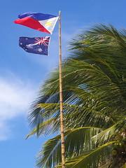 Flag of the Philippines, Boracay island, Western Visayas, Philippines (Darius Travel Photography) Tags: pentax philippines boracay filipinas pilipinas boracayisland    pentaxk100dsuper   filipinai