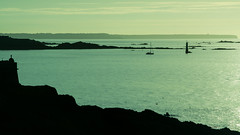 20150809-090_St  Malo_Evening Silhouettes (gary.hadden) Tags: sunset seascape landscape evening silhouettes saintmalo stmalo