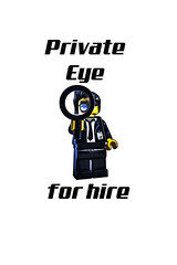 Private Eye for Hire by #fftw (tim constable) Tags: funny lego lol joke hound police humour follow professional magnifyingglass pi crime spy minifig examine spying stalk magnumpi fbi xfiles riddle privateeye discover detective facts investigation mi6 minifigure mi5 nsa forhire solve thetruth scrutiny examination sleuth uncover privateinvestigator fftw scrutinise underthespotlight timconstable