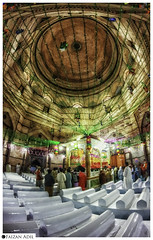 Precedence of graves (Faizan Adil.) Tags: travel pakistan people 3 graveyard architecture canon religious temple rebel shrine flickr documentary indoor center graves fisheye doom layers inside punjab 8mm unlimited photograhy shah alam adil t3i multan faizan photojpurnalism rukan precedence flickrtravelaward flickrtravelaward mentorasifzaidi