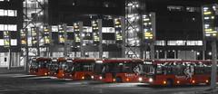 Twents (josbert.lonnee) Tags: netherlands night nacht outdoor busses nite busstation syntus selectivecolouring bussen selectivecoloring twents rodebussen selectivecolours selectivecolors selectievekleuren selectievekleuring selectiefgekleurd enschedecentraal