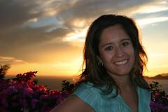(DhkZ) Tags: flowers sunset portrait mexico canon10d colima manzanillo canon1740mmf4l lapunta
