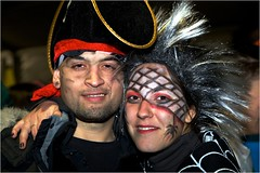 Black and Red (quentinimages) Tags: carnival spain fancydress orgiva