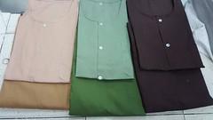 มากันเป็นเซ็ตกับชุดเสื้อกุยเฮง และกางเกงเล โดยจะใช้เป็นผ้าโทเรเกรดคุณภาพอย่างดีทั้งคู่ สีเสื้อโดยปกติจะอ่อนกว่าสีกางเกงเล แต่ว่าสามารถสั่งผลิตรวมเป็นชุดเซ็ตได้ เหมาะสำหรับใส่ทั่วไป หรือในร้านนวดสปา ทุกรูปแบบ สนใจติดต่อสอบถามหรือสั่งผลิต จำนวนต่างๆได้ครับ