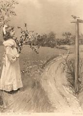 Sing Little Birdie (pepandtim) Tags: old london birdie daddy manchester early birmingham northampton little postcard fair nostalgia sing nostalgic frock 1906 elsie clarke whitsun ciss buckby ecton hildesheimer 18051906 32slb33