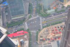 Shanghai (jernejb) Tags: china city miniature shanghai pudong observationdeck swfc shanghaiworldfinancialcenter d5200 skywalk100 swfcobservatory