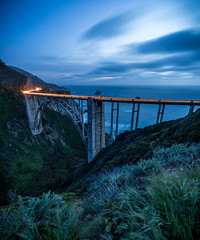Bixby Blue (dlemming262) Tags: ocean bridge blue 1 big pacific hwy pch hour sur bixby
