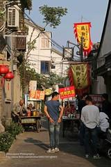 Suzhou, Pingjiang Lu, put on weight? (blauepics) Tags: china road city man men boys suzhou strasse butt chinese posing stadt mann showing jungs lu mnner jiangsu zeigen hintern pingjiang
