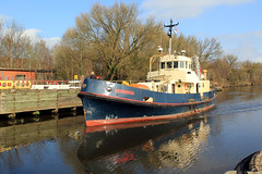 Dornoch (North Ports) Tags: manchester canal ship locks peel trafford salford ports msc irlam mmsi 232004426