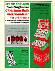 Westinghouse Christmas Light Trade Flyer (front) (JeffCarter629) Tags: christmas christmaslights westinghouse