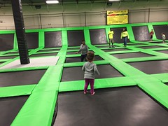 IMG_5209 (jcravenc) Tags: lunch january trampoline snapshots rhian iphone 2016 daddydaughter winstoncupmuseum jcravenc january2016