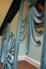 Iron Feathers (LA Stanton) Tags: london stairs banister kenwoodhouse ballustrade
