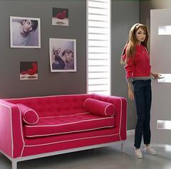 pink2 (bake.neko) Tags: miniature jonathan adler barbie poppy 16 parker diorama dollhouse 16scale playscale