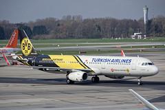 Turkish Airlines A321-231 TC-JSJ (mcaero/LTBY) Tags: de airplane nikon aircraft hamburg transport ham airbus passenger airlines dortmund turkish eddh borussia staralliance keiren a321231 d7200 tcjsj