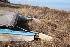 Pontoons (peterkelly) Tags: ontario canada beach grass digital canon boat dune northamerica lakehuron pontoon rudder grandbend 6d southcottpines