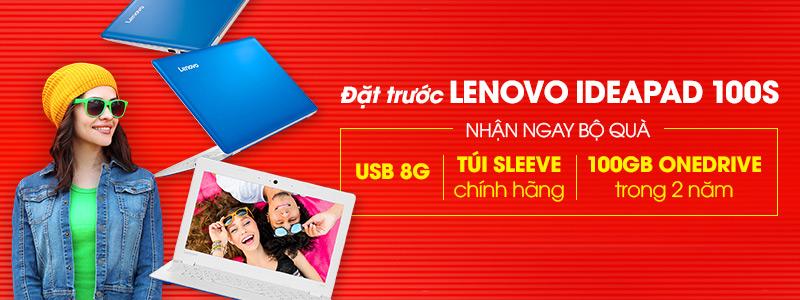 Mua laptop Lenovo Ideapad 100s chỉ 3.990.000đ, nhận nhiều quà hấp dẫn