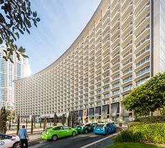 Century Plaza Hotel (Chimay Bleue) Tags: plaza city architecture century hotel design modernism modernist midcentury yamasaki minoro